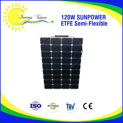 ETFE Sunpower flexible 120 watt