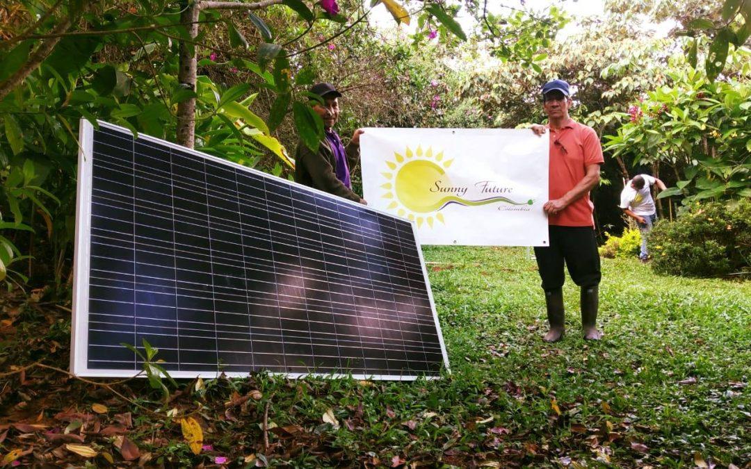 Kit solar 1000 Wh/dia $2.400.000