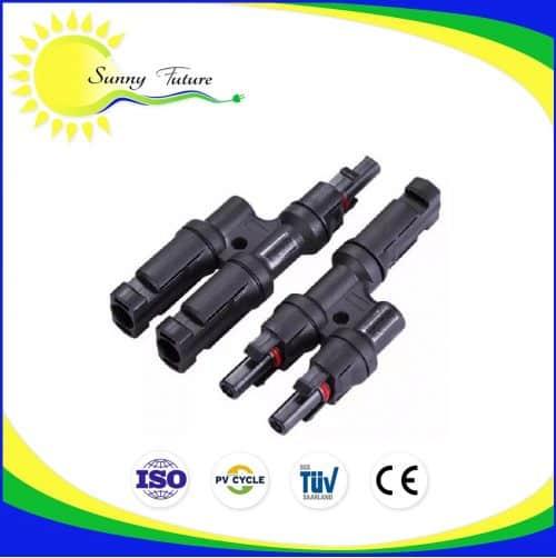Conectores MC4 Dobles en Y