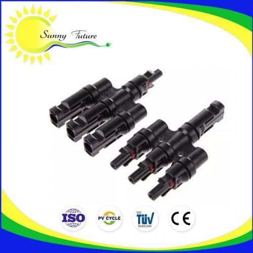 Conectores MC4 Triple