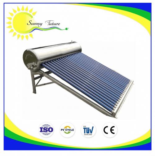 Termo solar por gravedad y presurizado 200 litros
