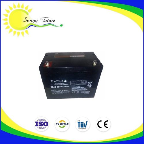 Bateria GEL 75AH TB-PLUS